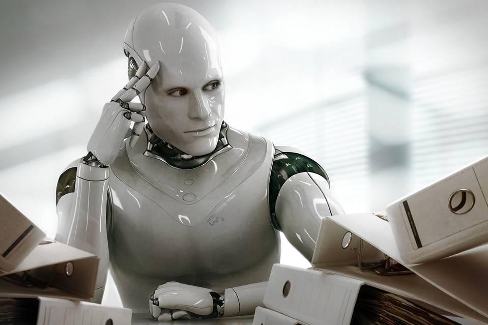 هوش مصنوعی هوش مصنوعی و نقش آن در آینده فینتک robot