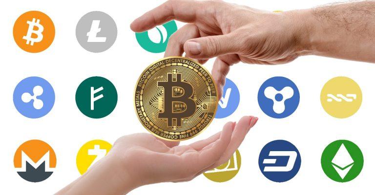 بلاگ بلاگ Cryptocurrency logos 768x400